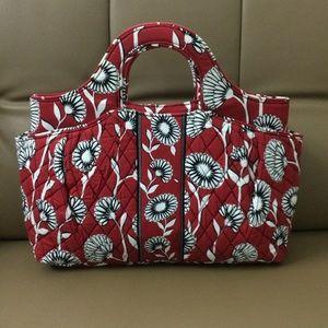 NWOT Vera Bradley Abby Tote Bag Deco Daisy